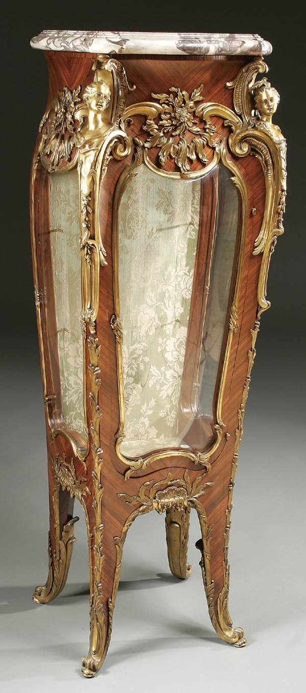 769 a very fine louis xv style vitrine stand by linke lot 769. Black Bedroom Furniture Sets. Home Design Ideas
