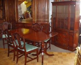 83 mahogany duncan phyfe dining room set lot 83 1950 dining room furniture daodaolingyy com