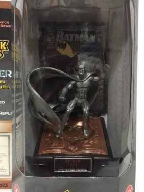 Awesome Modern Age Batman Fine Pewter Figure