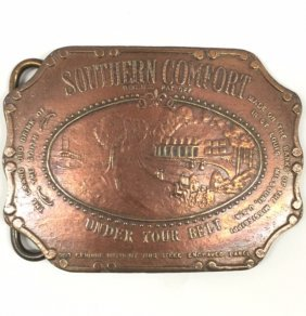 Early Signed Tiffany & Co Belt Buckle/great Piece