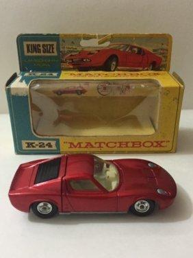 1969 Matchbox King Size Lamborghini Die-cast Car