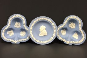 Lot Of 3 Pieces Of Early Wedgwood - Flawless