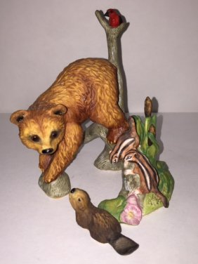 Franklin Mint Porcelain Figure By Susan C. Eaton