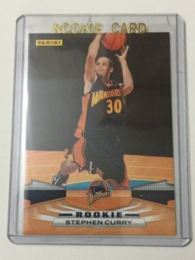 Mvp Mint Stephen Curry Rookie Basketball Card