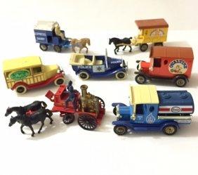 Lot Of 7 Vtg - Lledo Made In England Die-cast Cars