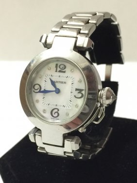 Pre-owned Cartier Like New Ladies Watch