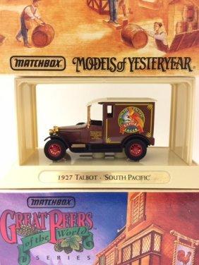 1927 Talbot Die-cast Car By Matchbox W/box