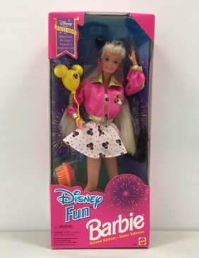 Vintage Disney Fun Sealed Barbie Doll
