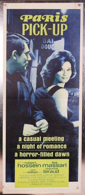 Paris Pick-up 1962 Drama Movie Poster French