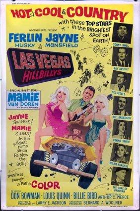 Las Vegas 1966 Jayne Mansfield Mamie Van Doren 40x60