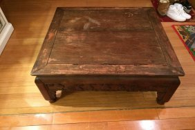 Old 19th Century Rosewood End Table