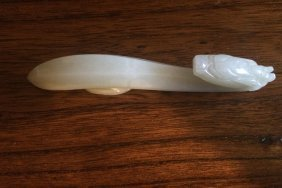 White Jade Pipe