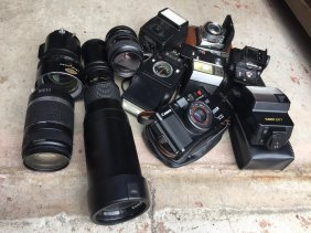 Camera, Lens, Equipment For Camera
