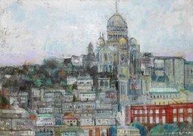 """Alex Zwaranstein """"View Of Montmartre"""""""