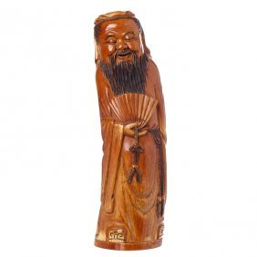 Large Chinese Immortal In Ivory