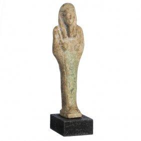 Shauabti / Ushabti In Egyptian Ceramic