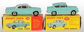 Lot Of 2: Dinky Toys Die-Cast Ford Cars.