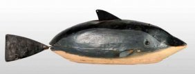 Early Clockwork Porpoise Wind-Up Toy.