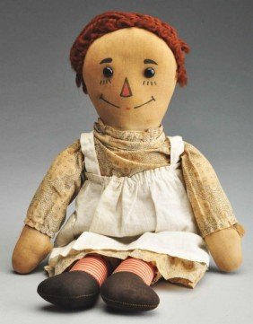 179 Volland Quot Raggedy Ann Quot Doll Lot 179