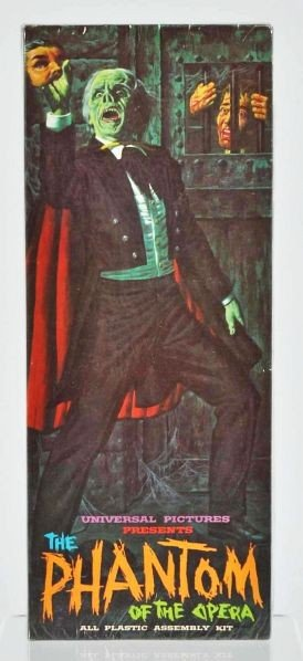 240 Aurora The Phantom Of The Opera Model Kit Lot 240