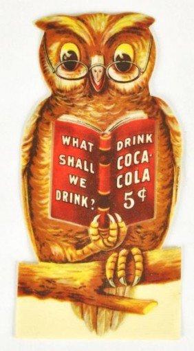 Celluloid Coca-Cola Bookmark.