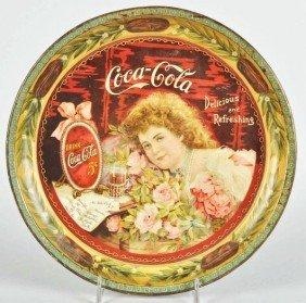 1901 Coca-Cola Serving Tray.
