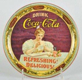 Impressive 1900 Coca-Cola Serving Tray.