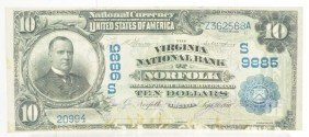 Lot Of 2: $10 National Currency Notes.