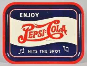 Pepsi-Cola Serving Tray.