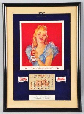 1941 Pepsi-Cola Calendar.