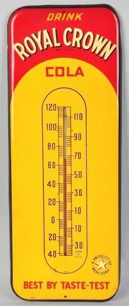 Royal crown cola thermometer dating 3