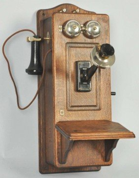 Western Electric 317E CTPFF Wall Telephone.
