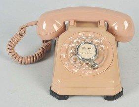 Stromberg Carlson Pink 1543 Cradle Telephone.