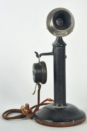 Western Electric 44BG Candlestick Telephone.