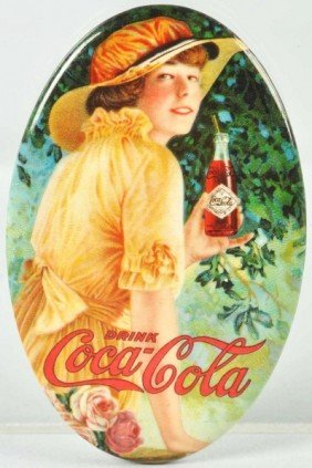 Coca-Cola Pocket Mirror.