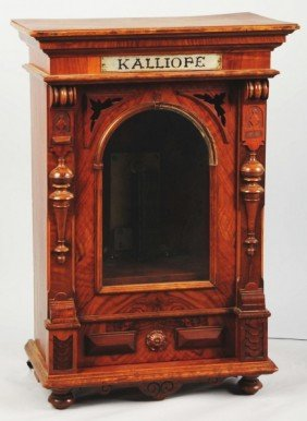 Kalliope Music Box With Key.