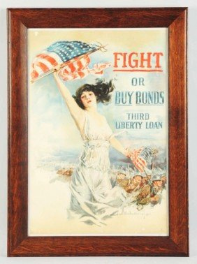 WWI Buy Bonds Poster.