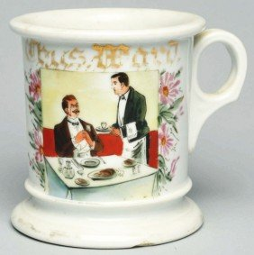 Waiters Shaving Mug.