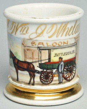Bottle Dealer Shaving Mug.