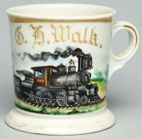 Locomotive Shaving Mug.
