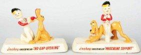 Lot Of 2: Jockey Underwear Advertising Figures.