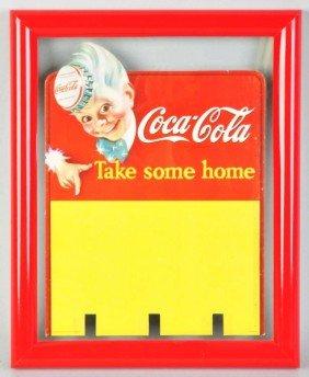 Cardboard Coca-Cola Sprite Boy Insert Die-Cut.