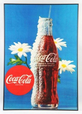 Lot Of 2: Large Paper Coca-Cola Posters.