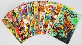 Lot Of 10: 1960s-70s Marvel Comic Books.