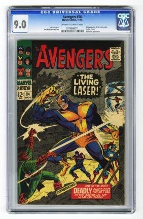 Avengers #34 CGC 9.0 Marvel Comics 11/66.