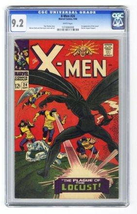 X-Men #24 CGC 9.2 Marvel Comics 9/66.