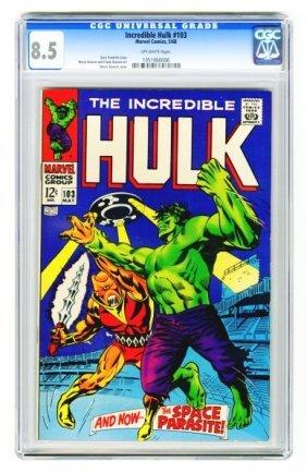 Incredible Hulk #103 CGC 8.5 Marvel Comics 5/68.