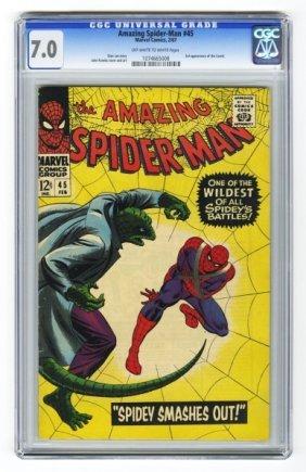 Amazing Spider-Man #45 CGC 7.0 Marvel Comics.
