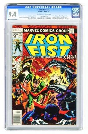 Iron Fist #15 CGC 9.4 Marvel Comics 9/77.