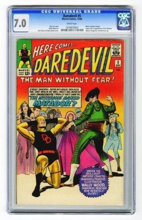 Daredevil #5 CGC 7.0 Marvel Comics 12/64.